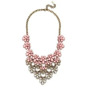 Baublebar Pink Statement Necklace / Bib
